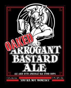 Arrogant Ale (seperation... ストーン:オークド アロガント バスター