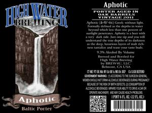 Aphotic Baltic Porter