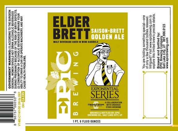Elder Brett Saison-Brett Golden Ale