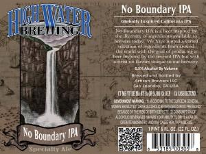 No Boundary IPA