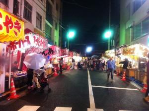 赤城神社祭り1