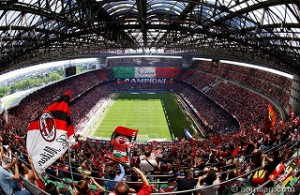 イタリア・ミラノ・スタジアム