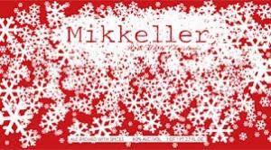 ミッケラー・レッド・ホワイトクリスマス・横ロゴ