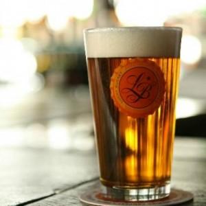 ラッキーバケット・ビールグラス
