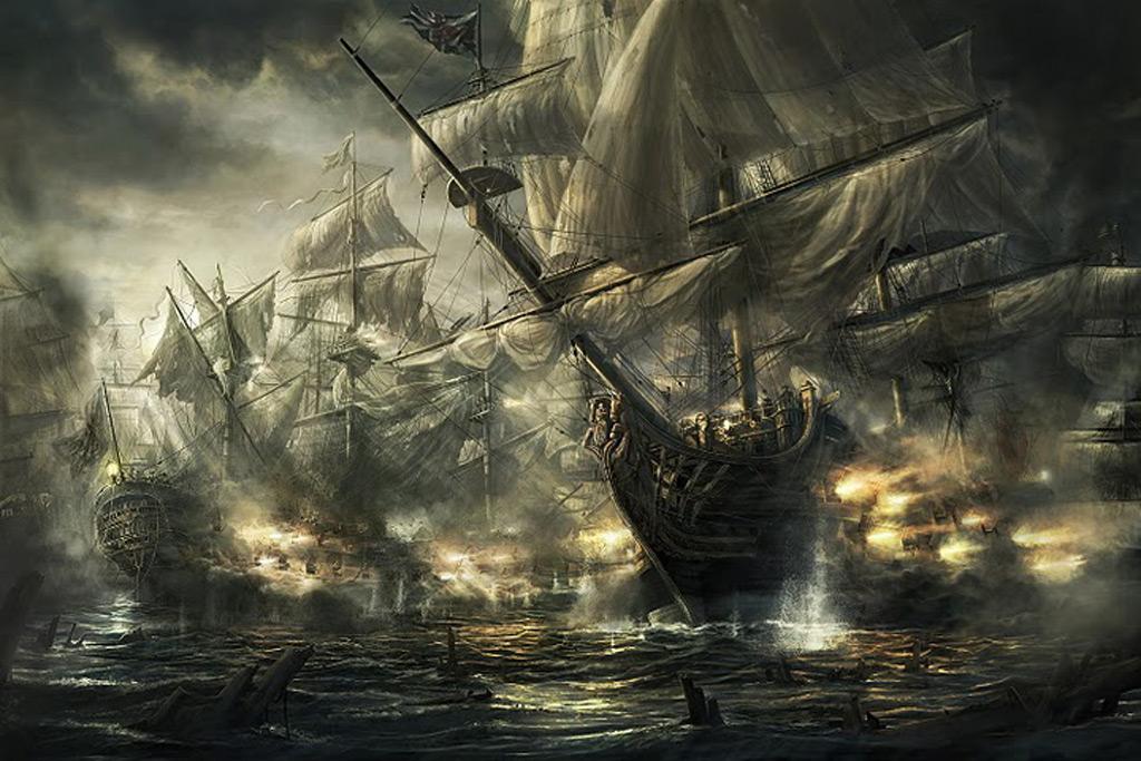 カリブ帆船